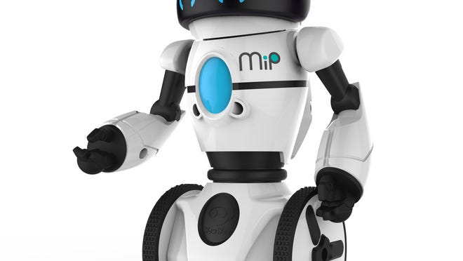 WowWee's MiP is a 10-inch tall robot you can control with a free app (iOS and Android) or through hand gestures and voice commands.