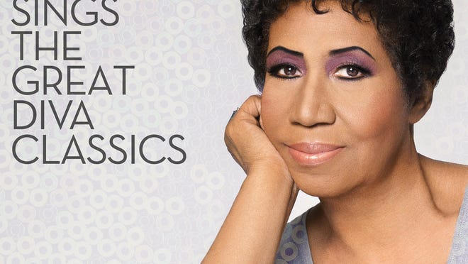 """This image provided by RCA Records shows the cover for Aretha Franklin's latest album, """"Aretha Franklin Sings the Great Diva Classics."""" (AP Photo/RCA Records)"""
