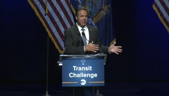 Gov. Andrew Cuomo spoke Thursday, June 29, 2017, at