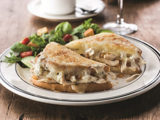 Chicken Croque Monsieur from Mimi's Cafe.