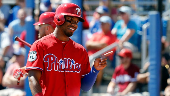 Nick Williams was recalled from Triple-A Lehigh Valley on Friday and will make his Major League debut with the Phillies against the New York Mets.