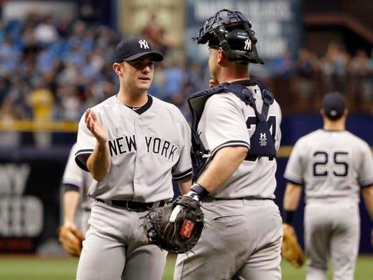 Yankees at Tampa Bay August 17