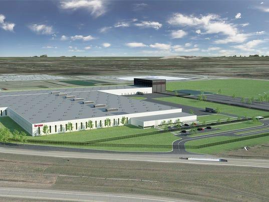 Brose facility near Metro Airport