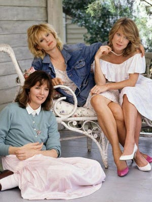 """Diane Keaton (left to right), Jessica Lange and Sissy Spacek star as sisters in 1986's Southport-shot dark comedy """"Crimes of the Heart."""""""