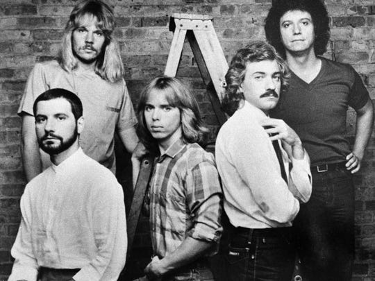 In this file photo, Dennis De Young is seated on the far right. Young will perform the music of Styx on the first night of the Downtown Street Festival.