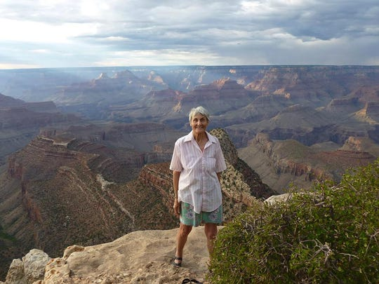 Anne Lorimor at the Grand Canyon in 2014. (Anne Lorimor)
