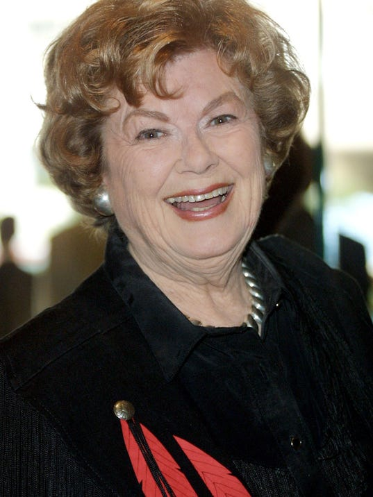 FILE: Barbara Hale Dies At 94