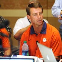 South Carolina Rep. William Chumley, a Republican from Spartanburg, submitted a letter to Clemson University coach Dabo Swinney on Friday, admonishing Swinney's decision to withdraw from a fundraiser for the Palmetto Family Council.