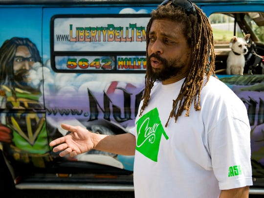 File: Marijuana advocate Ed Forchion speaks about his return to New Jersey and his up-coming trial for possession, Monday, April 16, 2012 in Cherry Hill.