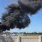 Salvage yard fire creates smoke in Gifford; no one injured as Blue Angels practice nearby