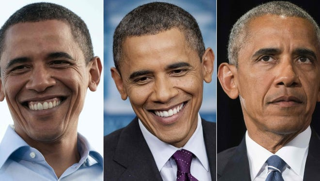 Barack Obama on Aug. 30,  2008; March 6, 2012; and Sept. 5, 2016.
