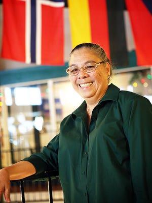 Marisa Newnam, volunteer for the Salem Multicultural Institute.