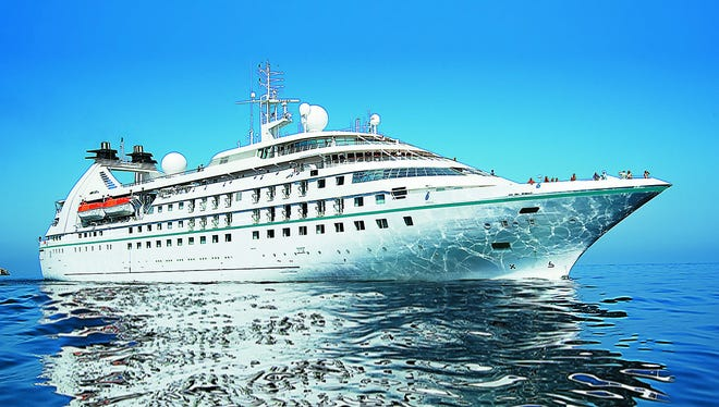Christened at a ceremony in Barcelona on May 5, 2014, the 212-passenger Star Pride was Windstar Cruises' first new ship in nearly two decades.