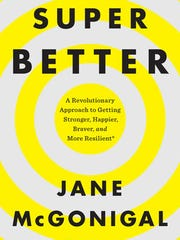 Cover of Jane McGonigal's recent book 'SuperBetter.'