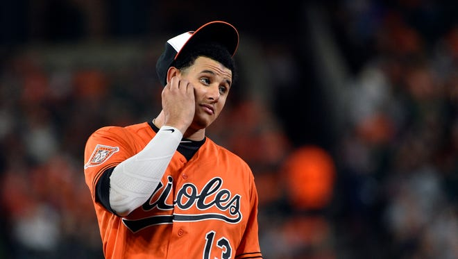 Baltimore Orioles star Manny Machado could be on the move. To a new position — or a new team.