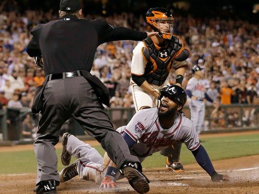 Baseball Umpire Safe