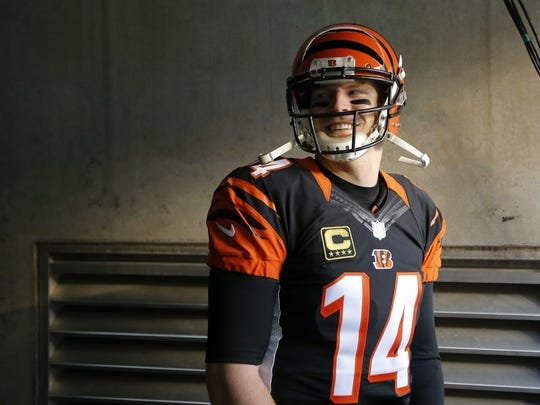The Cincinnati Bengals believe quarterback Andy Dalton can lead them to a Super Bowl.