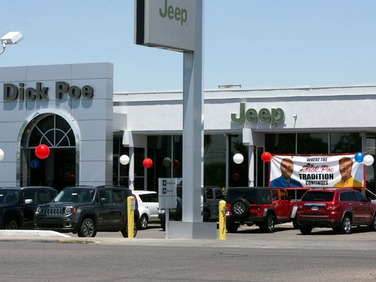 Son S Fight Over Dick Poe Dealerships Heads To Trial