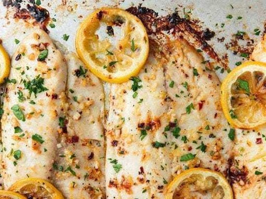 Tilapia bakes quickly and easily