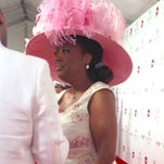 Star Jones uses the Courier Journal's sports page to decide her Derby picks