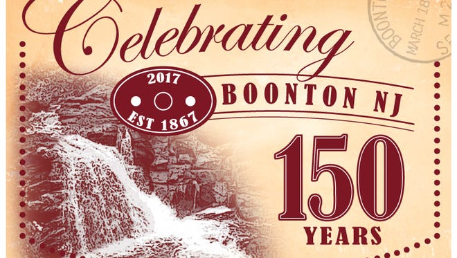 Boonton shows off its past with a postcard to mark the town's 150th anniversary.
