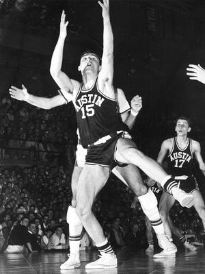 Michigan sports icon Dave DeBusschere during his playing career at Austin High School.