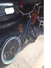 Bicycle found at the scene of a stolen car on Friendship