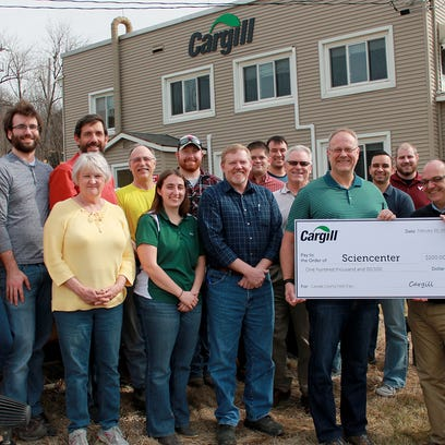 Cargill Deicing Technology donates $100,000 to Sciencenter