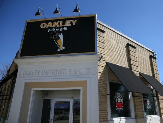 Oakley Pub & Grill on Isabella Avenue in Oakley, Tuesday,