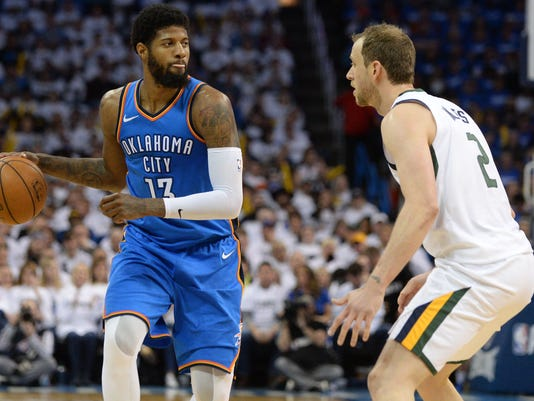 Paul George staying in Oklahoma City