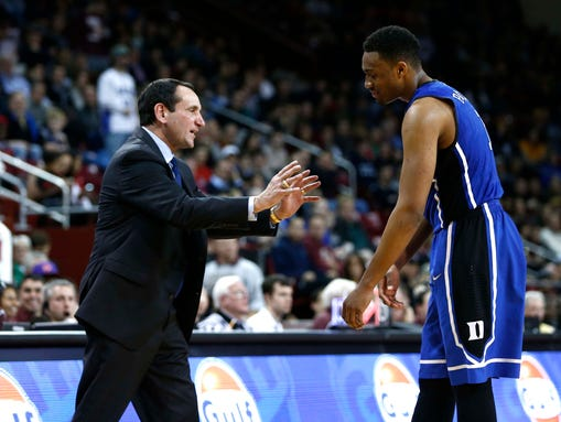 USP NCAA Basketball_ Duke at Boston College