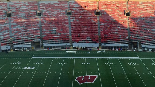 Football ticket prices for Wisconsin football games will go up in 2018.