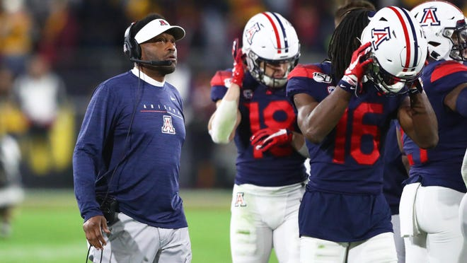 Arizona coach Kevin Sumlin is having a tough week after announcing Monday he tested positive for COVID-19 and the Wildcats receiving the fewest votes in the Pac-12 preseason media poll released Wednesday.