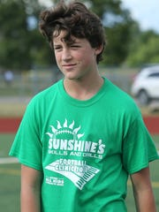 Connor Sherman, entering his freshman year at Plymouth, is the brainchild behind the annual Sunshine's Skills and Drills Football Clinic.