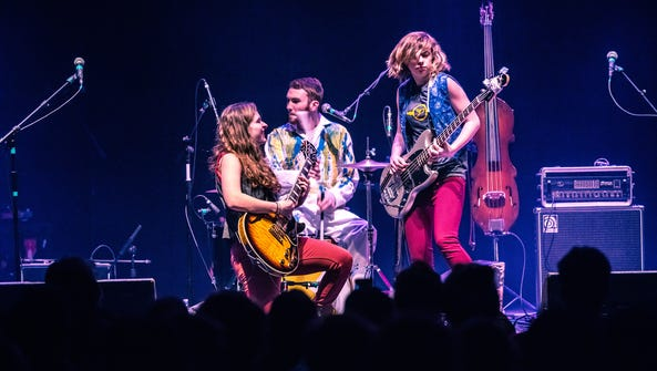 A March 4, 2016 photo of The Accidentals in concert.