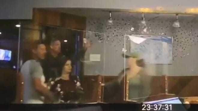 Several customers, including an off-duty Quincy police officer, got into a fight at Ming Dynasty in Marshfield over wearing masks inside. WVCB photo