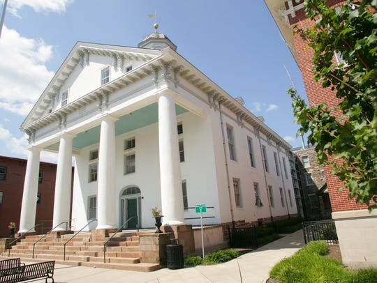 The historic Hunterdon County Courthouse.