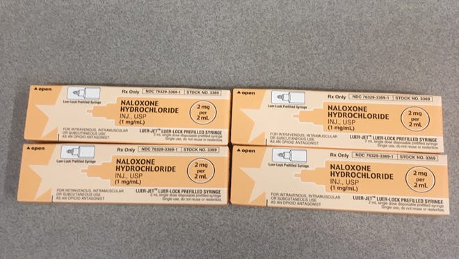 Naloxone donated through the UC ASAP Board grant.