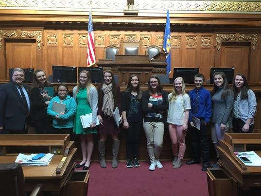 American Institutions students meet with state Rep.