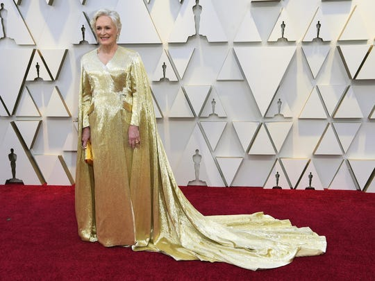 """Glenn Close, who won the Oscar for best actress in 2017 for """"The Wife,"""" was able to keep her gown after the 2019 awards show."""