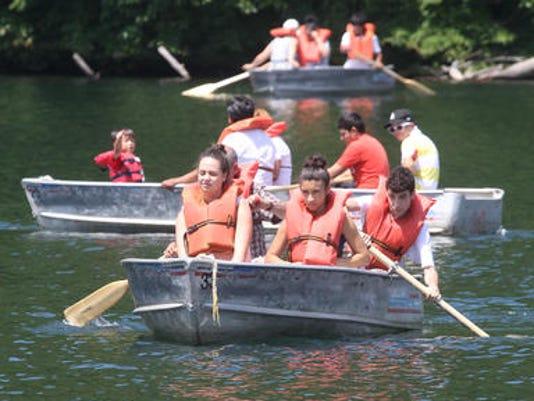 Row Boats on Hessian Lake