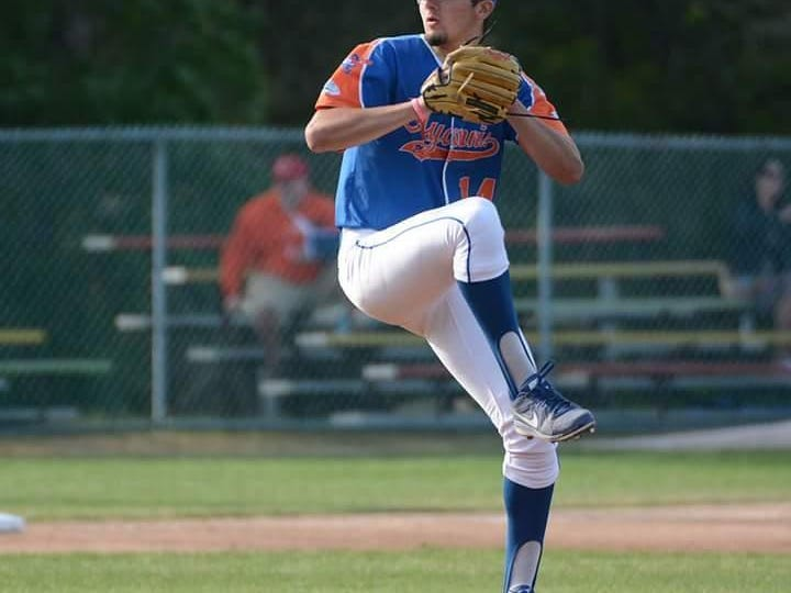 Pitching for the Hyannis Harbor Hawks, Devin Smeltzer threw the first nine-inning no-hitter by an individual in the Cape Cod League since 2010 last weekend against Harwich.