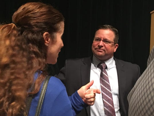 Shane McCord, new Gilbert superintendent