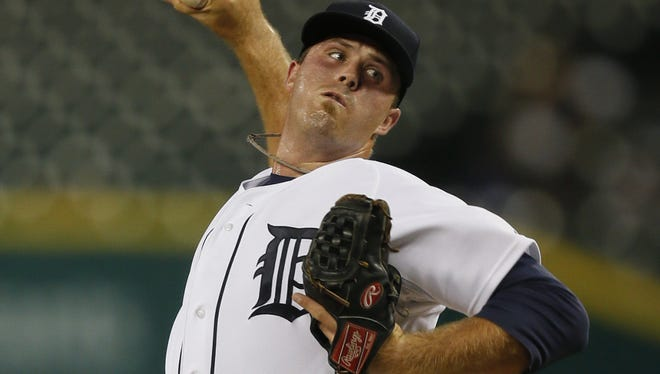 Tigers pitcher Buck Farmer will move to the bullpen this spring.