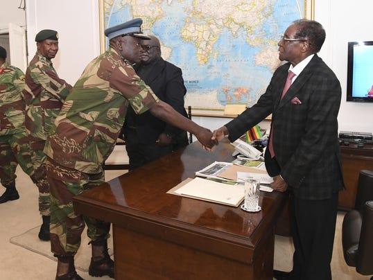 APTOPIX Zimbabwe Political Turmoil