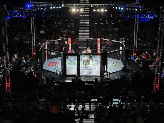 MMA Fight at the Pentagon