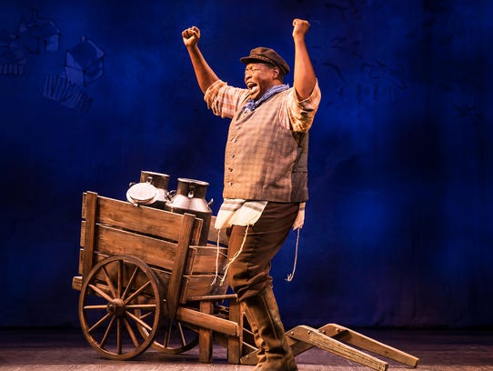 """Chuck Cooper as Tevye in the """"Fiddler on the Roof"""""""