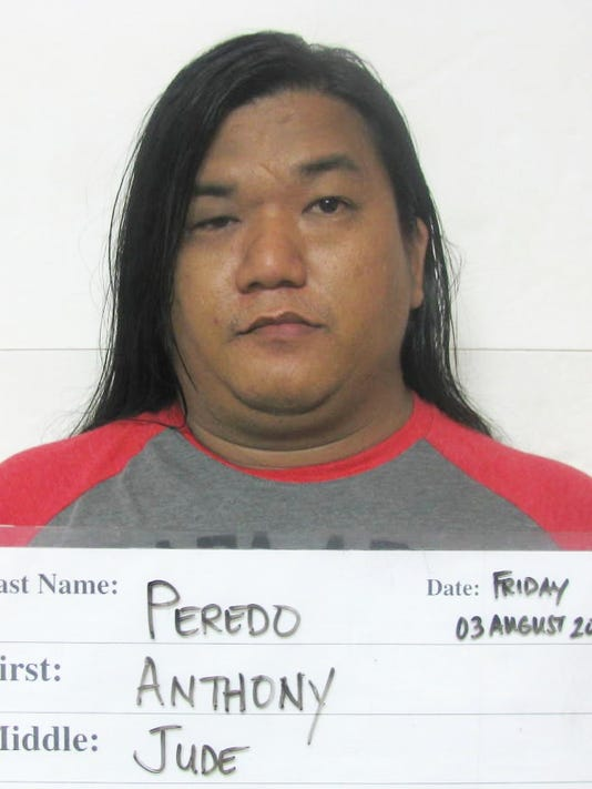 Anthony Jude Peredo Allegedly Found With Meth After He Was