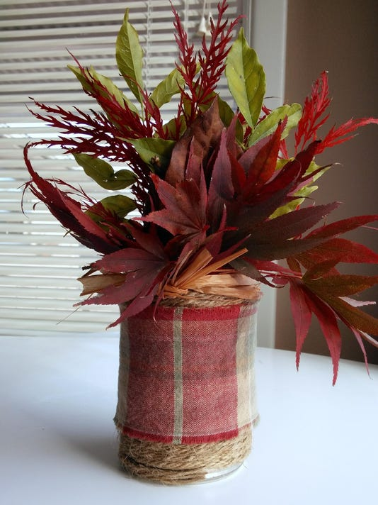 leaf centerpiece 1