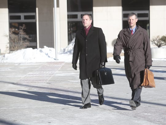Lacey Spears' attorneys enter Westchester County Courthouse for another day of jury selection Thursday.